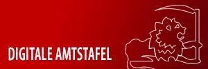 Digitale Amtstafel der Gemeinde Tristach