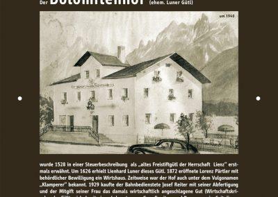 GeHschichte 14 Dolomitenhof