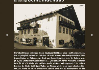 GeHschichte 21 Gemeindehaus