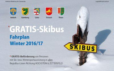 Skibus 2016/17