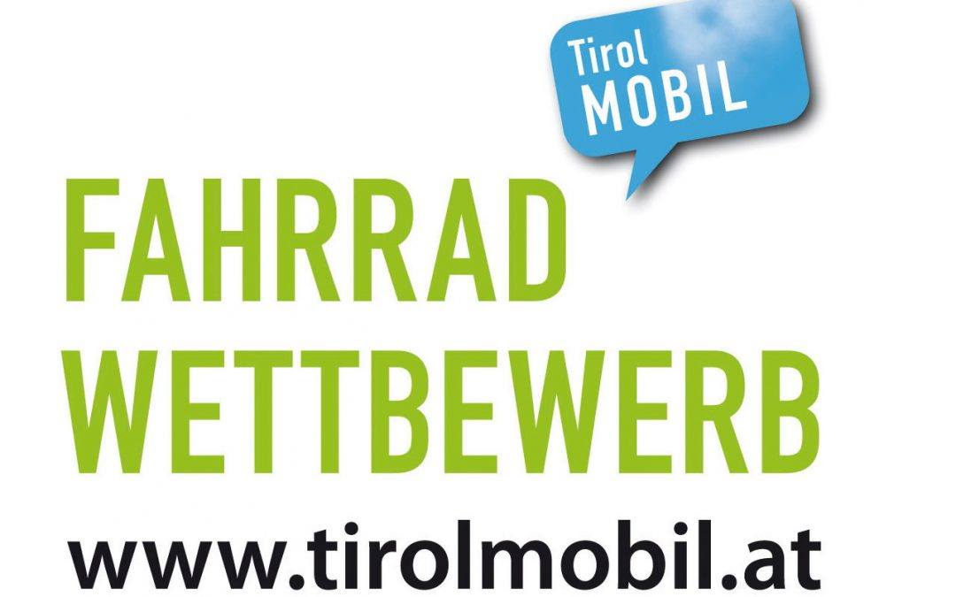 Startschuss für den Tiroler Fahrradwettbewerb