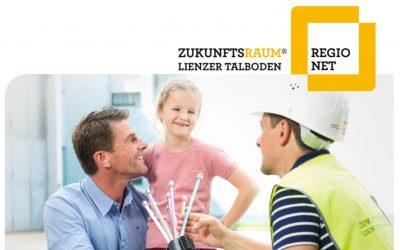 Sie benötigen einen schnellen Internetanschluss und möchten an das RegioNet anschließen?