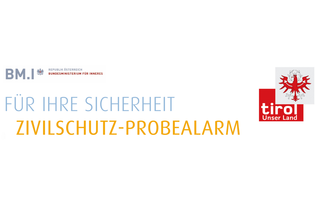 Zivilschutz-Probealarm 2. Okt. 2021