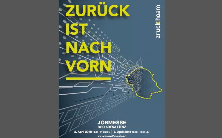 JOBMESSE Zruck Hoam