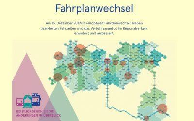 VVT – Fahrplanwechsel ab 15.12.2019