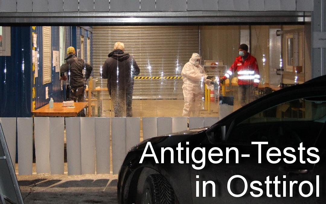 Antigen-Tests in Osttirol