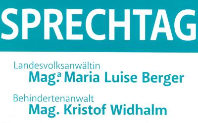 Sprechtag Landesvolksanwälte am 26.11.2011 in der BH Lienz