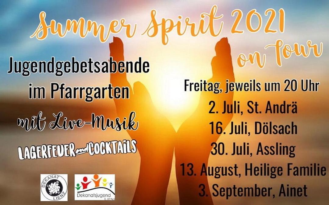Summer Spirit 2021 auf Tour in Osttirol