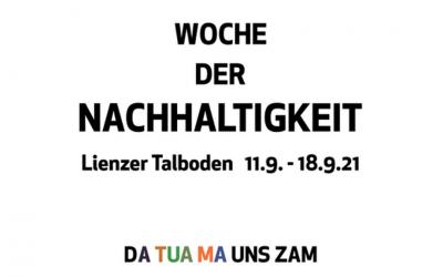 WOCHE DER NACHHALTIGKEIT 11.-18.09.2021